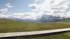 Sudtirol Alto Adige Italian Alps Landscape 15 Stock Footage