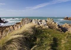 Stock Photo of Coastal scene on guernsey,