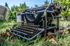 Writing Machine Stock Photos