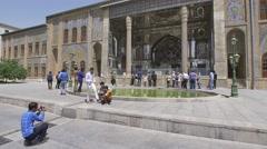 Golestan Palace exterior Stock Footage