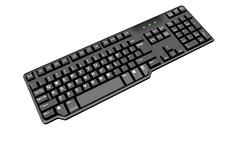 3d model of Black Keyboard With Number Pad