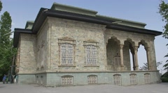 Green Palace Museum Exterior west Stock Footage