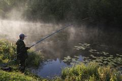 The fisherman - stock photo