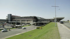 Stock Video Footage of Afonso Pena Airport in Curitiba, Brazil