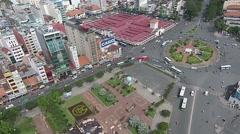 Aerial Ho Chi Minh City Vietnam 6 Stock Footage