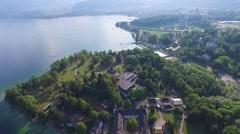 Gmunden, Traunsee, Lake Austria summer Stock Footage