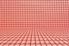 roof texture background perspective room - stock photo