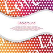 Seamless vector abstract background. Vector booklet list - stock illustration