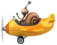 Fun snail Piirros