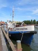 """Classic lifeboat """"Prins Hendrik"""" in Holland Stock Photos"""