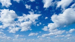 Timelapse. Motion clouds. Stock Footage