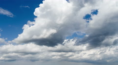 Timelapse. Motion clouds. - stock footage