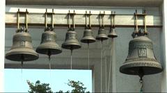Church bells - stock footage