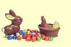 Stock Photo of Chocolate friendship