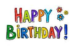 Happy Birthday! - stock illustration