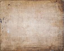 Old Fabric Burlap Texture Background - stock photo