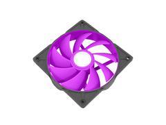 Computer chassis/CPU cooler Stock Photos