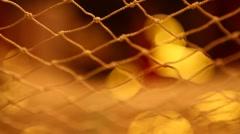 Hammock Summer Net Stock Footage