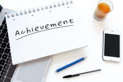 Achievement - stock illustration