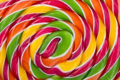 Lollypop, twirly abstract background Stock Photos