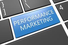 Performance Marketing - stock illustration