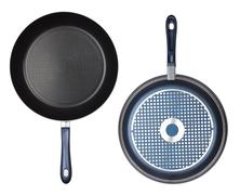 two frying pan - stock photo