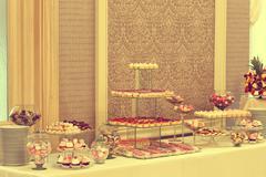 Delicious candy bar - stock photo