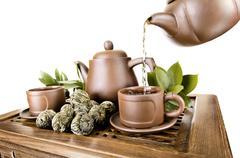 tea service - stock photo