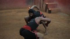 Ancient Martial Arts from Kerala 10 Stock Footage