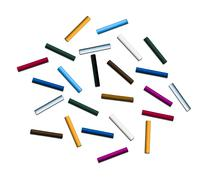 Sticks of pastel colored chalk Stock Photos