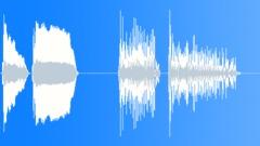 Bye Bye / Cartoon voices Sound Effect