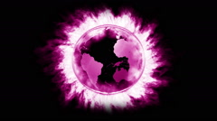 fire globe_green_LOOP - stock footage