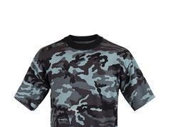 camouflage tshirt - stock photo