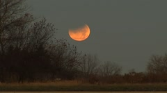 Lunar Eclipse Time Lapse - stock footage