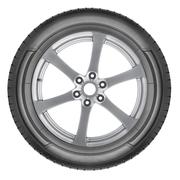 Alloy wheel set Stock Photos