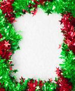 Christmass frame Stock Photos