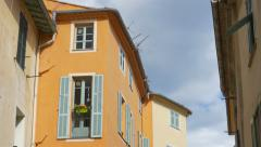 French window in Villefranche-sur-Mer. Stock Footage