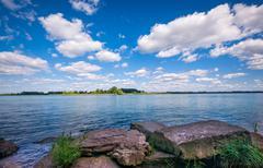 South Detroit River Scenic Kuvituskuvat