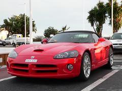 Dodge Viper in Puerto Banus - stock photo