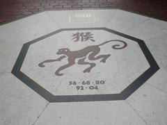 Monkey chinese zodiac Stock Photos