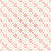 Stock Illustration of Delicate lovely  seamless pattern
