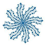 Stock Illustration of Rosette ornament.