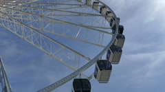 Ferris Wheel - Seattle - 05 Stock Footage