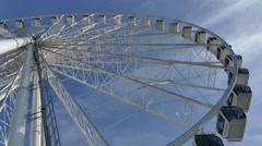 Ferris Wheel - Seattle - 06 Stock Footage