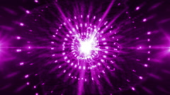 Abstract circle light background purple LOOP Stock Footage