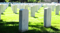 Zachary Taylor National Cemetery. - stock footage