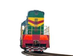 High speed diesel train Stock Photos