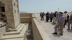 Naqsh-e Rustam ancient necropolis Stock Footage