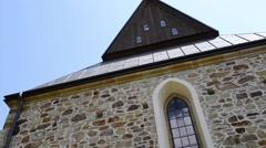 Parish of Saint Nicholas in Polomi Stock Footage
