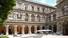 The University of Vienna (Universitat Wien) Stock Footage